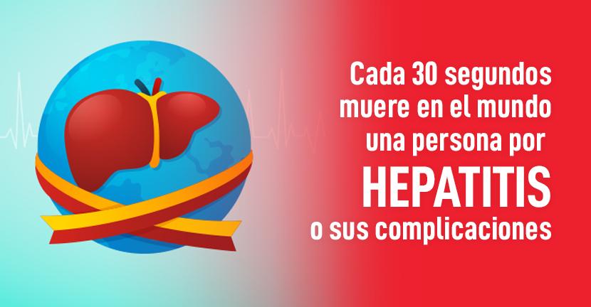 Imagen del artículo Cada 30 segundos muere en el mundo una persona por hepatitis o sus complicaciones