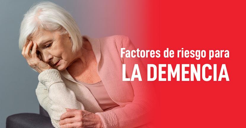 Imagen Factores de riesgo para la demencia