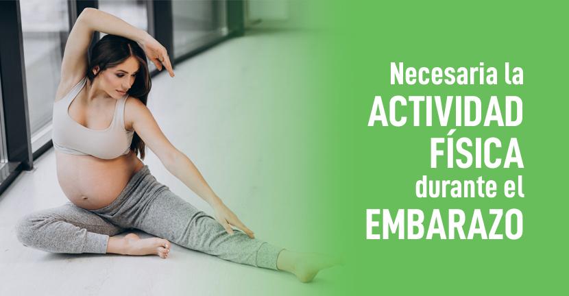 Imagen Necesaria la actividad física durante el embarazo