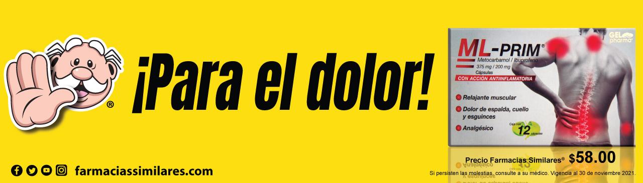 Banner promocional de Farmacias Similares