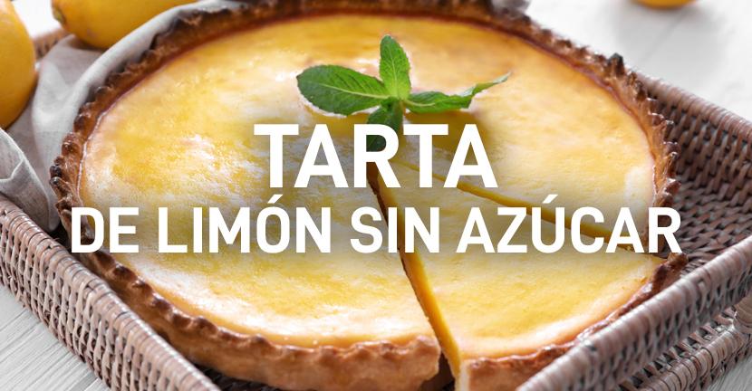 Tarta de limón sin azúcar