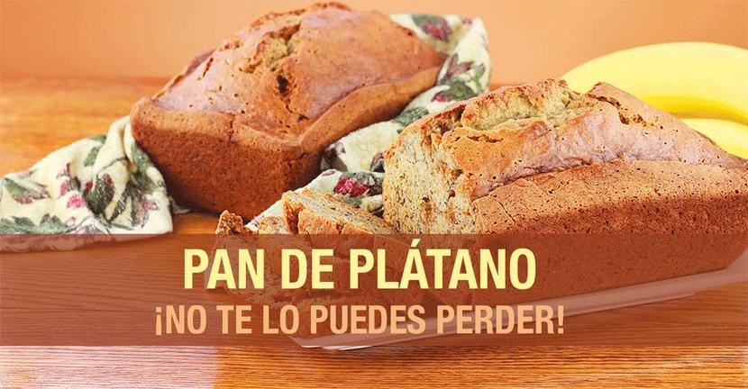 Imagen de la receta Pan de plátano
