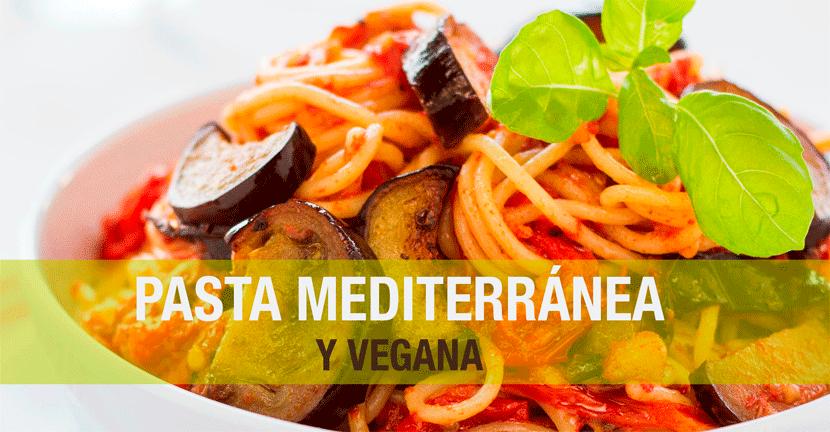 Imagen de la receta Pasta mediterránea y vegana