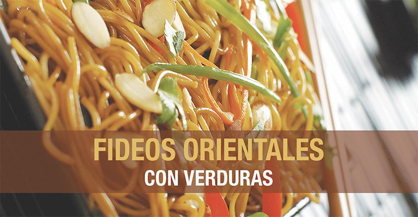 Imagen de la receta Fideos orientales