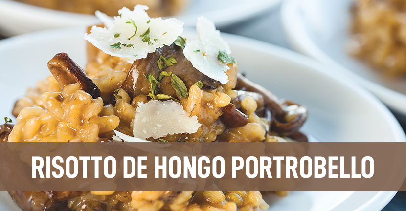 Imagen de la receta Risotto de hongo portobello
