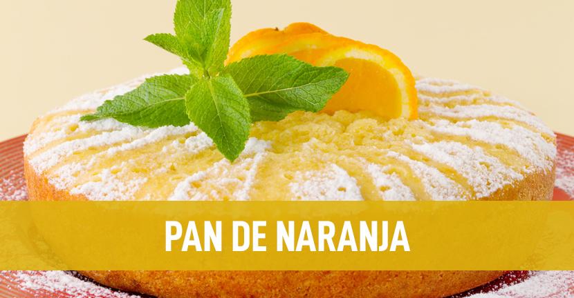 Imagen de la receta Pan de naranja