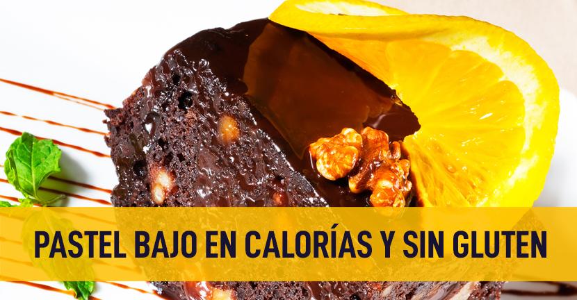 Imagen de la receta Pastel bajo en calorías y sin gluten