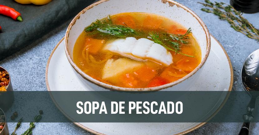 Imagen de la receta Sopa de pescado