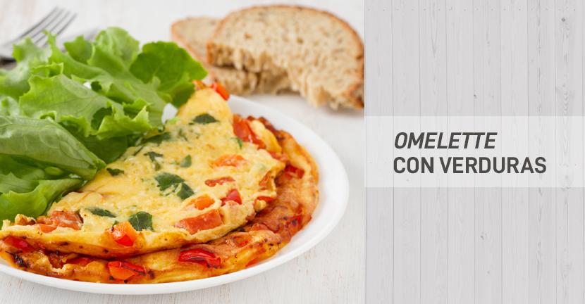 Imagen de la receta Omelette con verduras