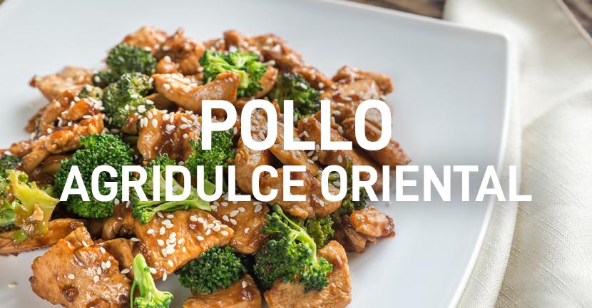 Imagen de la receta Pollo agridulce oriental