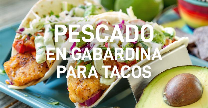 Imagen de la receta Pescado en gabardina para tacos