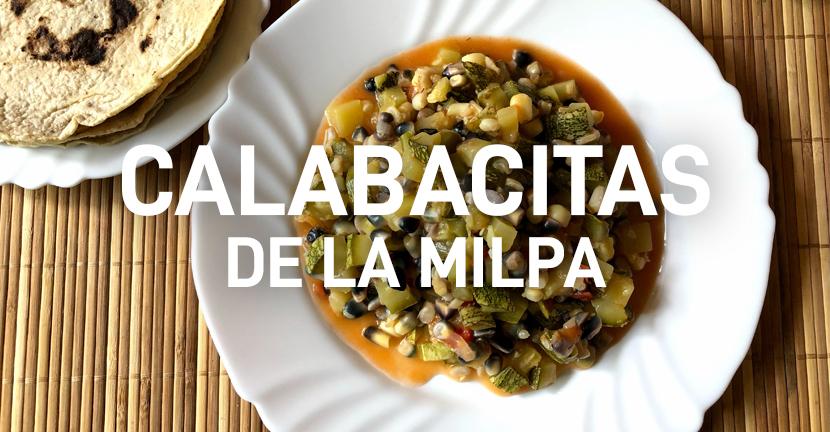 Imagen de la receta Calabacitas de la milpa